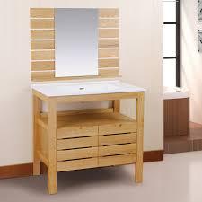 single bathroom vanities ideas. Furniture. Brown Wooden Bathroom Vanity With White Top And Sink On Ceramics Flooring Combined By Single Vanities Ideas