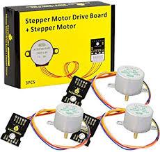 KEYESTUDIO <b>3Pcs ULN2003</b> Motor Driver Board + DC 5V Gear ...