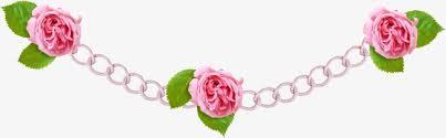 chain clipart rose chain rose