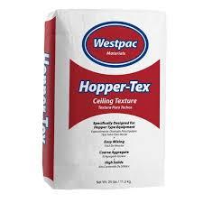 25 lb hopper tex ceiling texture bag