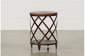 rustic round end table. Display Product Reviews For MOUNTAINIER ROUND END TABLE Rustic Round End Table