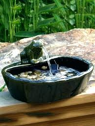 outdoor solar water fountains solar water fountain garden solar garden fountains frog solar water feature garden