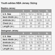 Nba Swingman Shorts Size Chart Nike Nba Jersey Size Chart Kasa Immo
