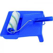 <b>Набор малярный</b> (<b>валик</b> в сборе полиэстер 230 мм, ванночка ...