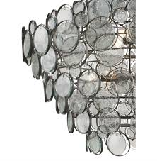 view full size recycled glass chandelier e63
