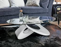 eclipse by target point modern coffee table with glass top thumbnail