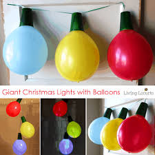 Christmas Lights Solo Cups Giant Balloon Christmas Lights And Ornaments Diy Holiday Craft