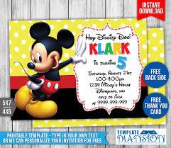 invitationtemplate templatemansion 0 0 mickey mouse birthday invitation 2