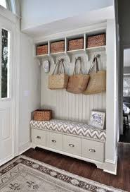 Classy Cottage - beach style - entry - charleston - K & K Custom Cabinets  LLC. Good idea for an entry way.