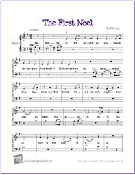 The First Noël | Free Beginner Piano Sheet Music