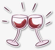 cartoon wine glasses stickers cartoon vector wine vector glasses vector png and vector