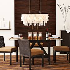 dining room chandeliers rectangular gallery throughout light idea 7