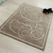 teddy bear rugs beige
