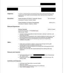 How To Make First Resume No Experience Under Fontanacountryinn Com