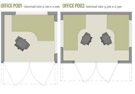 internal office pods. unique internal office pod floorplans and internal pods t