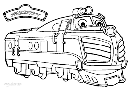 Small Picture Printable Chuggington Coloring Pages For Kids Cool2bKids