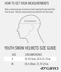 Amazon Com Giro Neo Jr Youth Snow Helmet Sports Outdoors