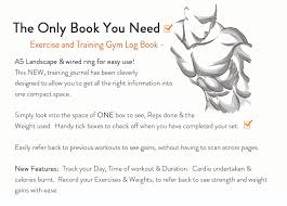 weight training log book workout log book a5 gym diary exercise cardio weight training