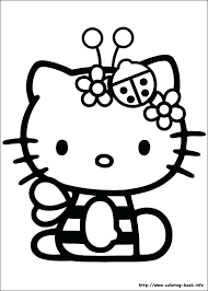 Hello Kitty Coloring Pages That You Can Print Books Packed With