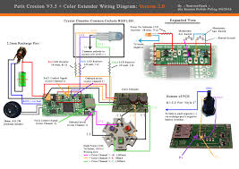 wiring diagram for the petit crouton v3 5 4 0 color extender wiring diagram for the petit crouton v3 5 color extender satellite board