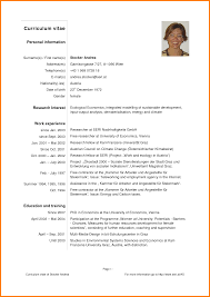 Resume Cv Example Pdf Cv Format For Mba Freshers Free Download In