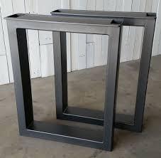 contemporary metal furniture legs. custom made metal table legs burton contemporary furniture