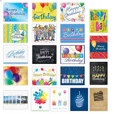 Birthday Card Sample Beauteous Birthday Sampler Card Assortment