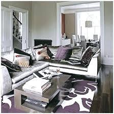 purple living room ideas sidebar purple and dark brown living room ideas