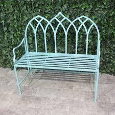 garden benches metal