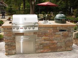 For Outdoor Kitchen Big Green Egg Built Into Outdoor Kitchen Outofhome
