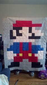 The Great 8-Bit Mario Quilt Adventure | tolmema & 8-bit-mario-quilt | tolmema Adamdwight.com
