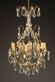 a5426a antique chandelier crystal 8 arm