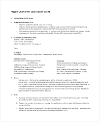 project charter sample project charter template 10 free word pdf documents download