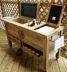 diy outdoor bar station 5