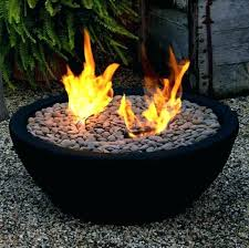 outdoor tabletop fire bowl