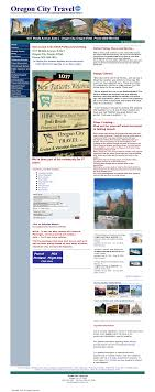 Web Design Oregon City Oregon City Travel Bureau Competitors Revenue And Employees