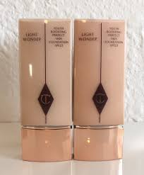 Charlotte Tilbury Light Wonder Foundation Swatches Charlotte Tilbury Light Wonder Foundation 4 5 Review