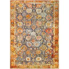 artistic weavers deighton bright yellow 8 ft x 10 ft area rug
