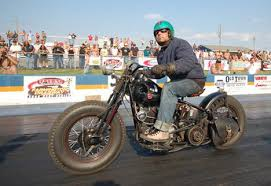 kevin baas on bobbers and choppers