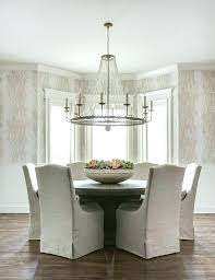 dining room chandeliers height chandeliers dining table chandelier gray linen dining chairs with round wood table