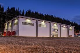 Led Flood Lighting Commercial Building Google Search