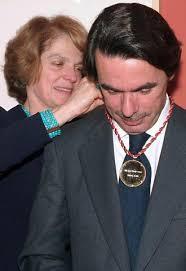 Resultado de imagen de aznar medalla de oro congreso ee.uu.