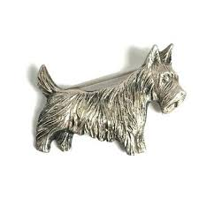 scottie dog gifts sterling silver terrier brooch dog jewelry pi scottie dog xmas gifts