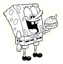 Small Picture To Download Spongebob Squarepants Coloring Sheets 79 With