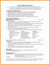 Medical Technologist Resume Sample Clinical Laboratory Scientist Resume Therpgmovie 45