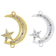 whole silver jewelry making supplies uk 50pcs supplies for jewelry silver muslim crescent moon charm