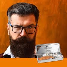 beard grooming starter gift tin
