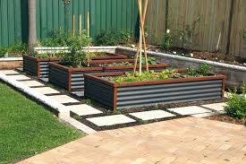 metal raised garden beds corrugated image result for and wood bed kit nz