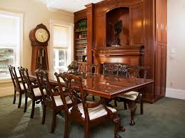 antique furniture for victorian dining room design with carving dining chairs plus white padded also gl