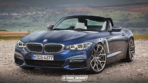 2018 bmw vehicles.  bmw 2018 bmw z4 g29 rendering mirrors the 5 series design on bmw vehicles